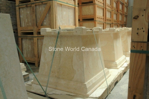 Coral-Stone-Planters-made-of-coral-stone-from-dominican-republic