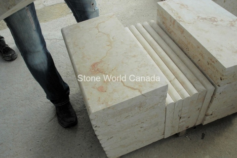 Stone-Coping-Coral-Stone-Bullnose-Coping