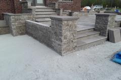 Dimensional WallStone Retaining Walla