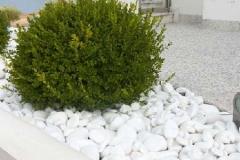 White Marble Stone Pebbles