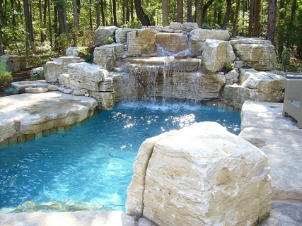 swimming-pool-pond-and-waterfall