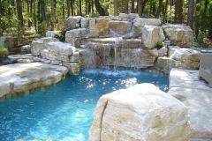 Waterfall Stone Landscape Rockery