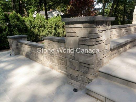 Stone Pillar Caps