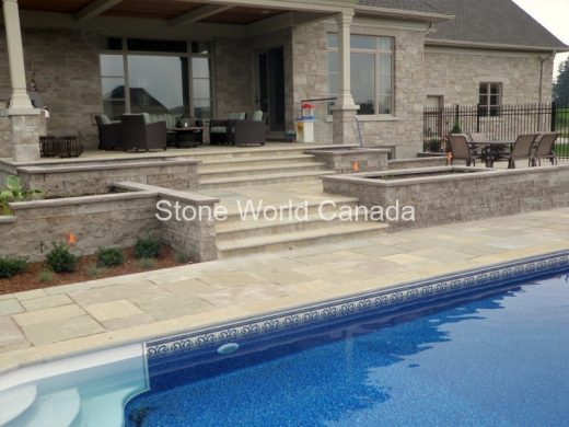 Wall Stone Retaining Wall Products from Ontario Canada