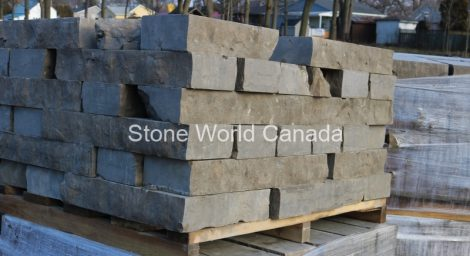 sawn bed wallstone retaining wall products from ontario canada at stone world