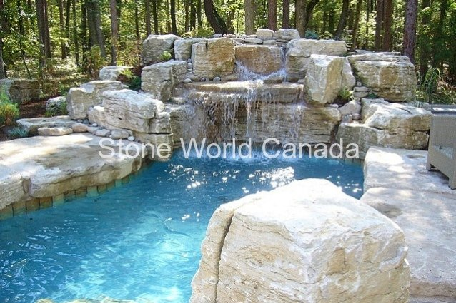 Waterfall Stone and Landscape Rockery