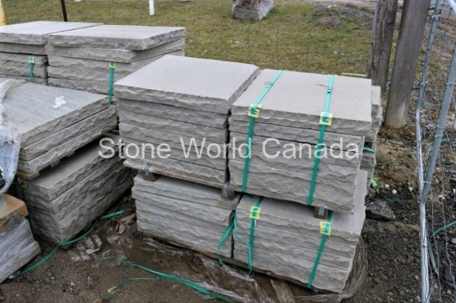 Limestone Pier Caps for Columns